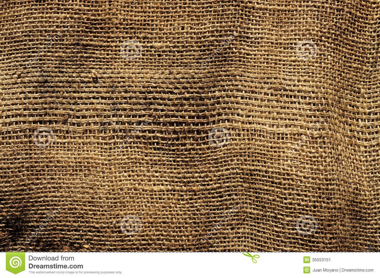 Old burlap fabric stock image image of horizontal object for What is burlap material