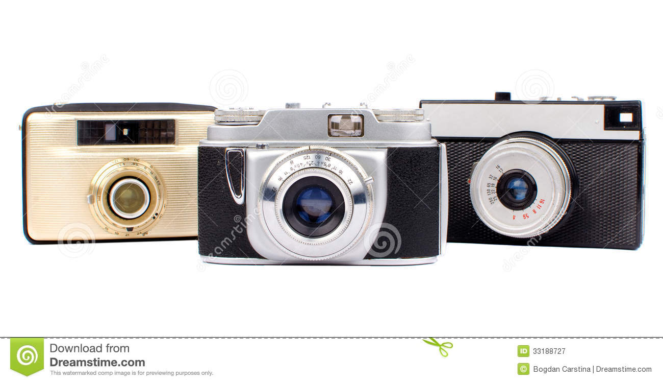 Download Old cameras stock image. Image of camera, front, aperture - 33188727