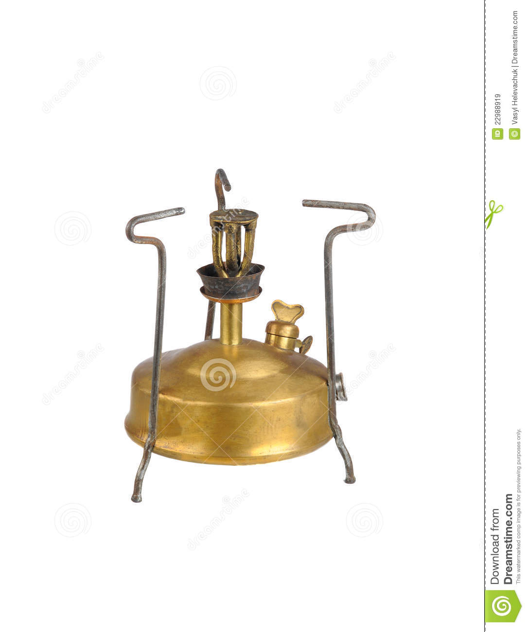 Old Camping Stove Royalty Free Stock Images - Image: 22988919