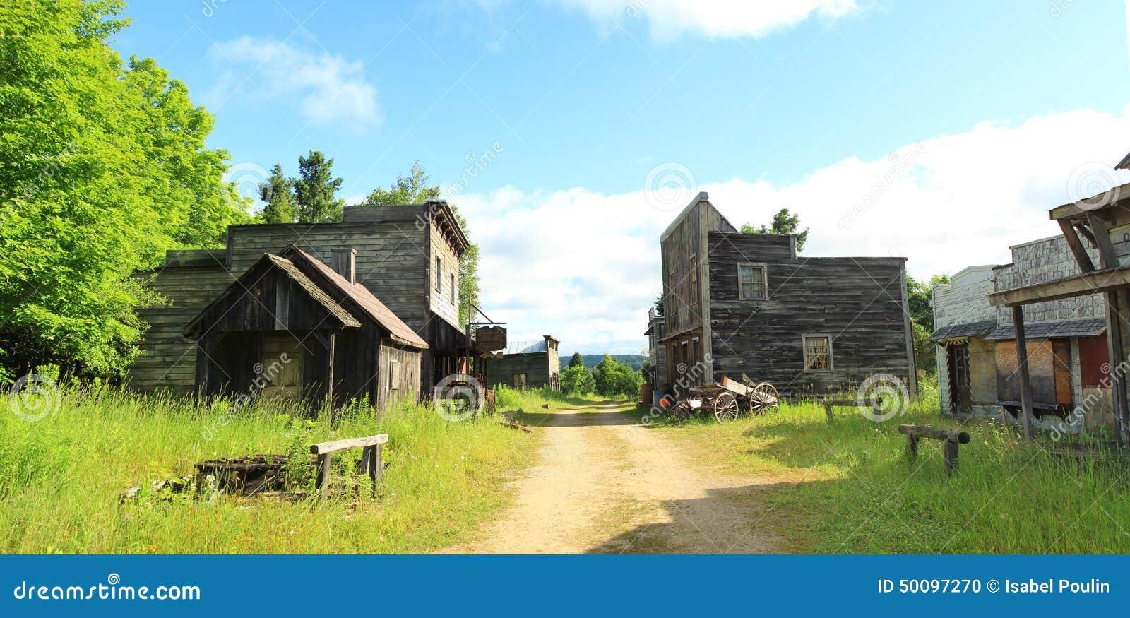 Old canadian village