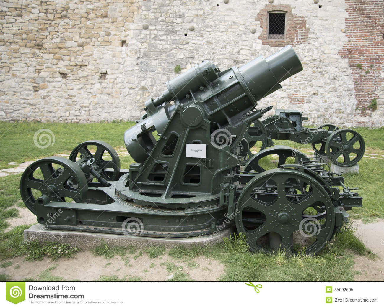 Old Canon Stock Image  Image Of Merzer  Antique  305mm
