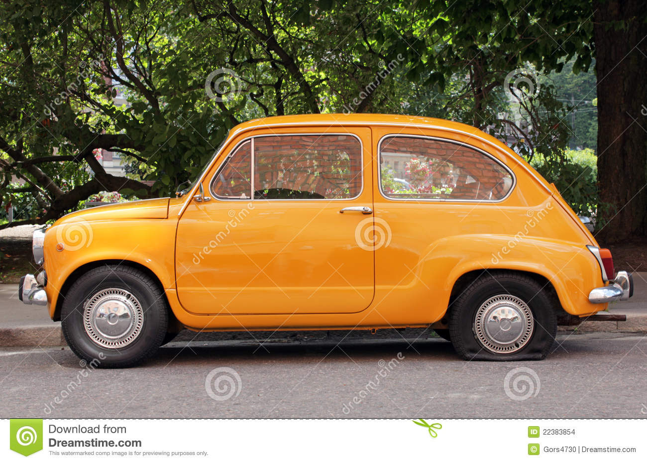 Old Car Stock Photo. Image Of Elderly, Side, Europa