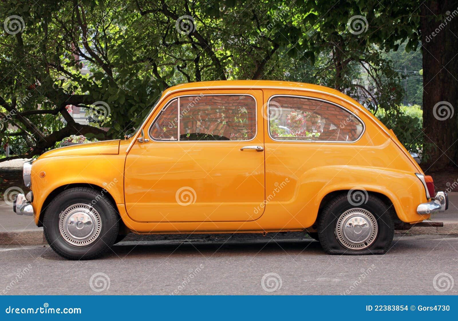 Old Car Stock Photo. Image Of Elderly, Side, Europa