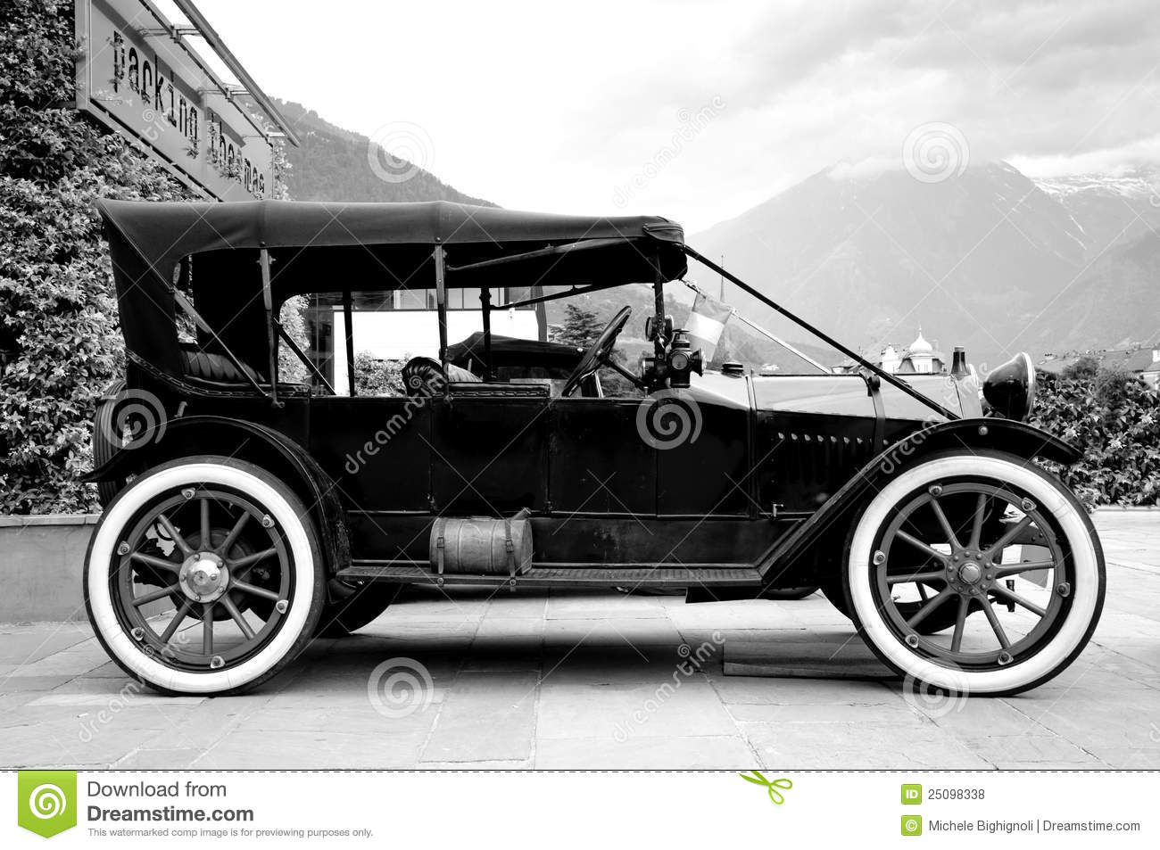 Old Car Stock Photo Image Of Antique Black Vehicle - Old car photos