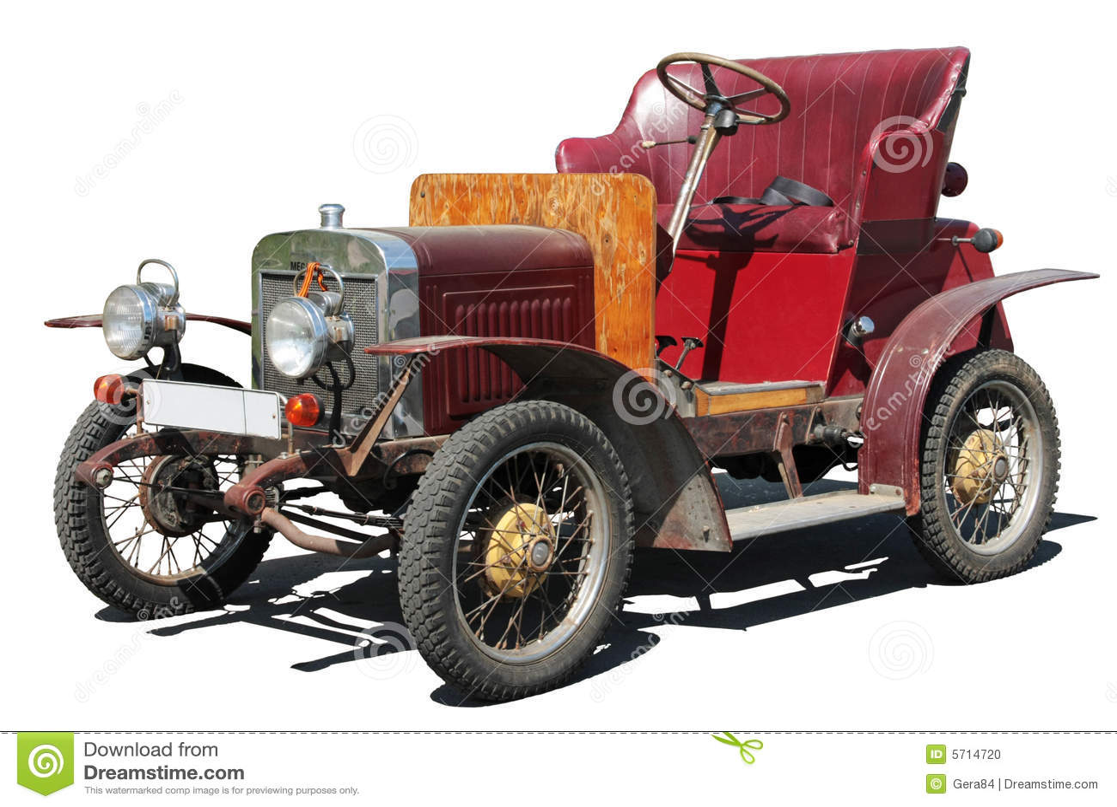 An Old Car Stock Photo