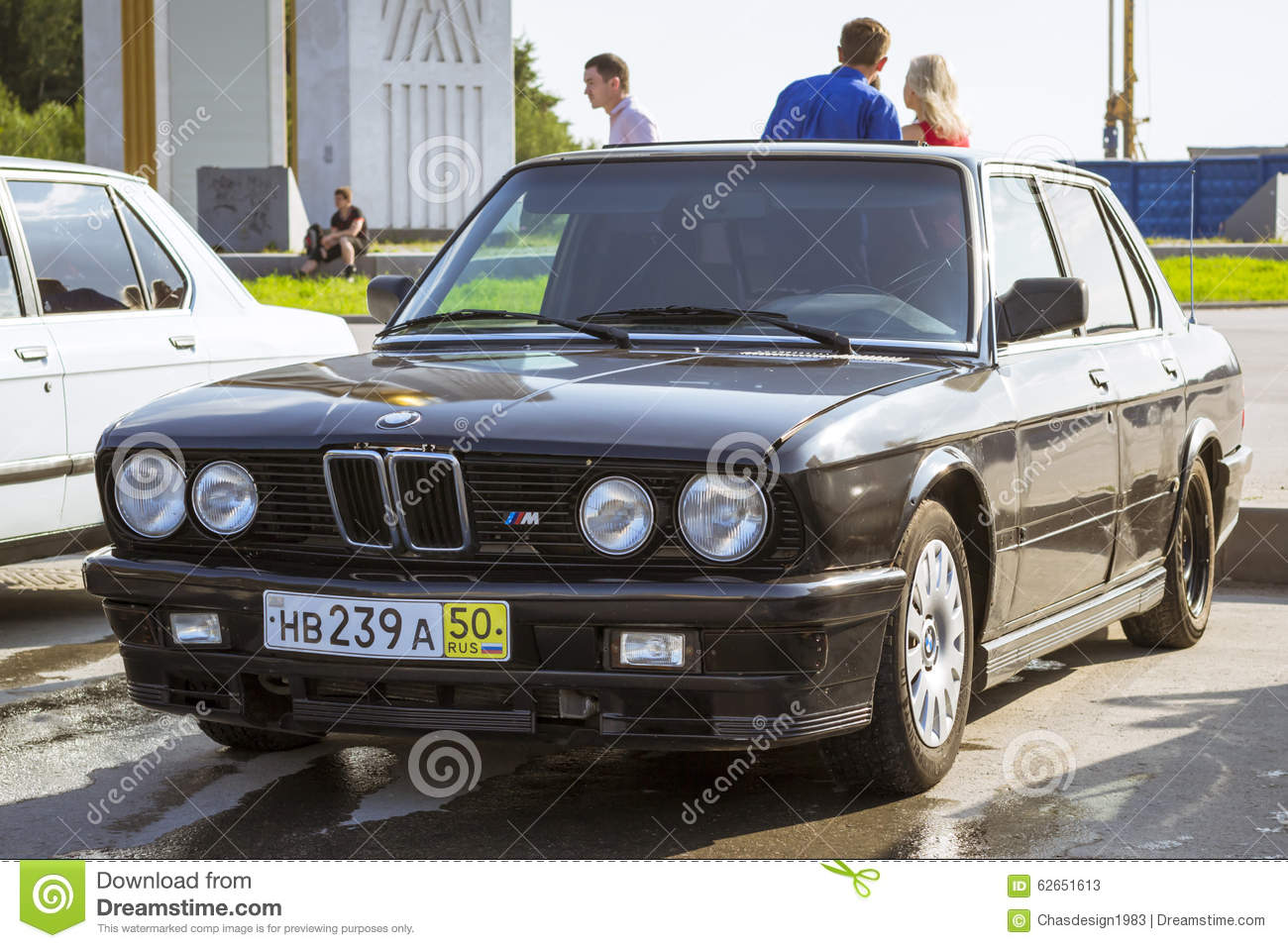 Old Car Bmw 3 Series E30 Editorial Stock Photo Image Of Development