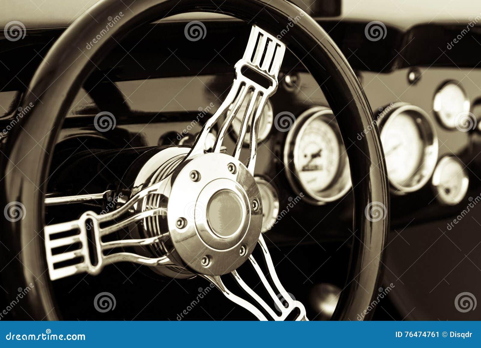 Old Car Dashboard Stock Image Image Of Interior Design 76474761
