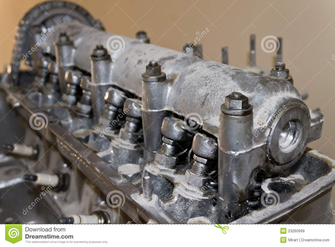 Old car engine stock image. Image of energy, concept - 23260999