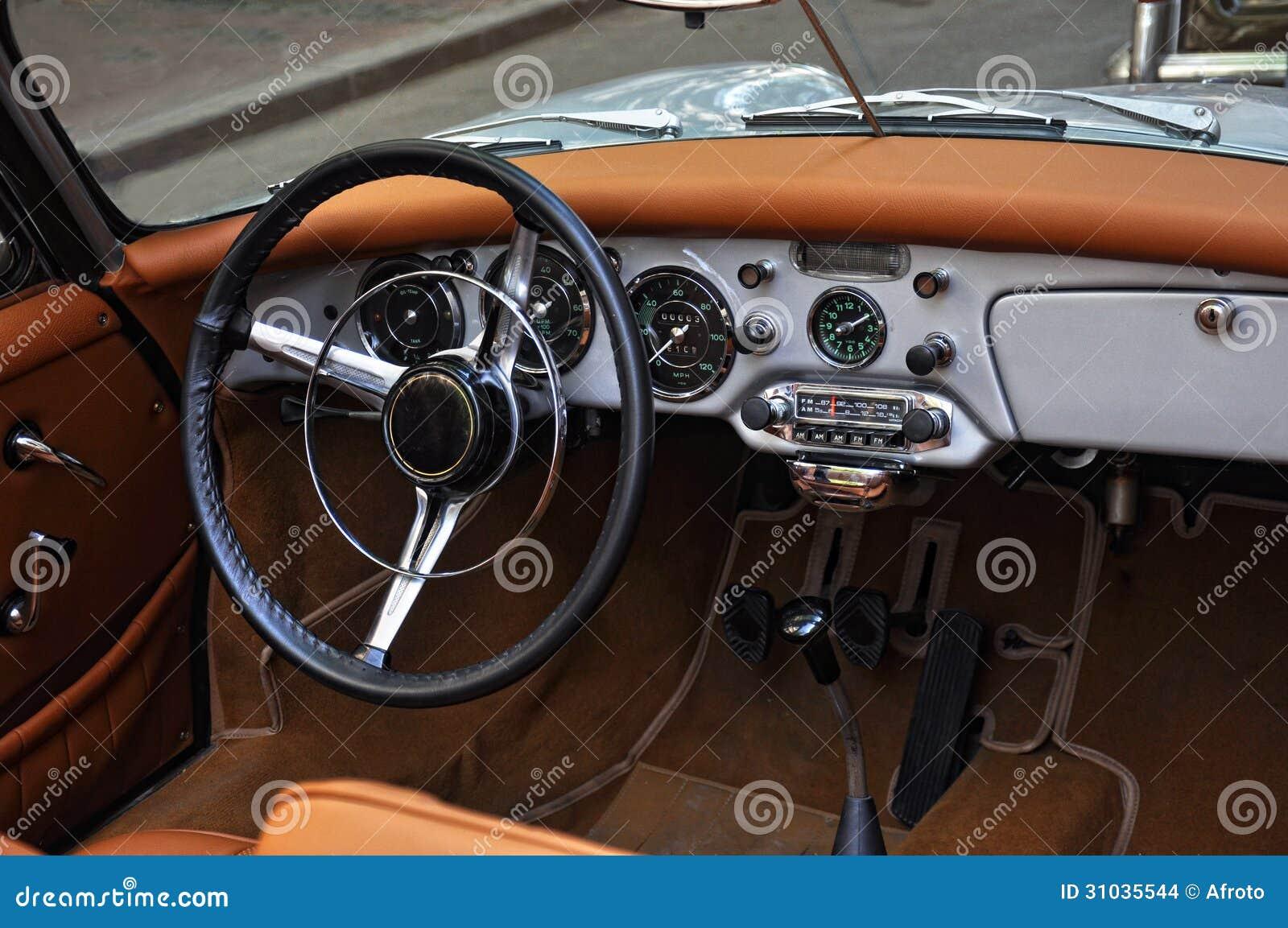 old car interior royalty free stock image 31035544. Black Bedroom Furniture Sets. Home Design Ideas