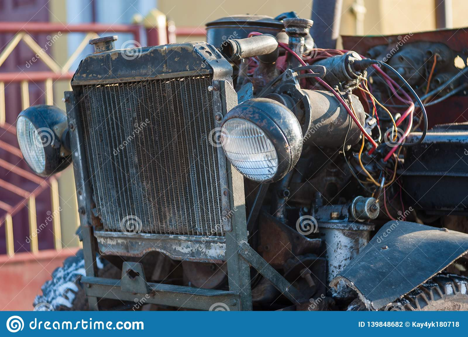Old car needs repair and wiring diagnostics