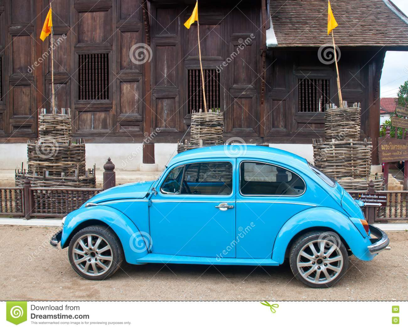 old car and temple royalty free stock photography image 20234507. Black Bedroom Furniture Sets. Home Design Ideas