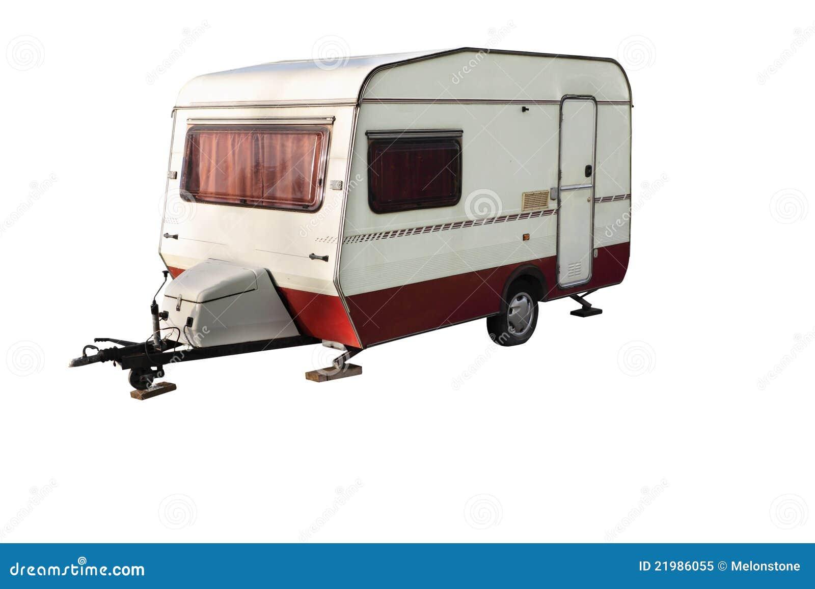 Old Caravan Stock Image Image Of Horizontal Holiday