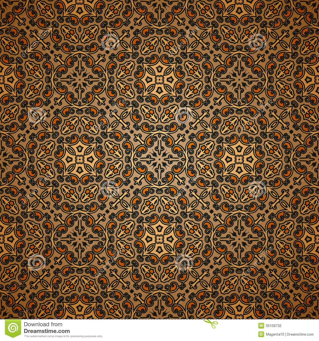 Old Carpet Pattern Stock Photography Image 35109732