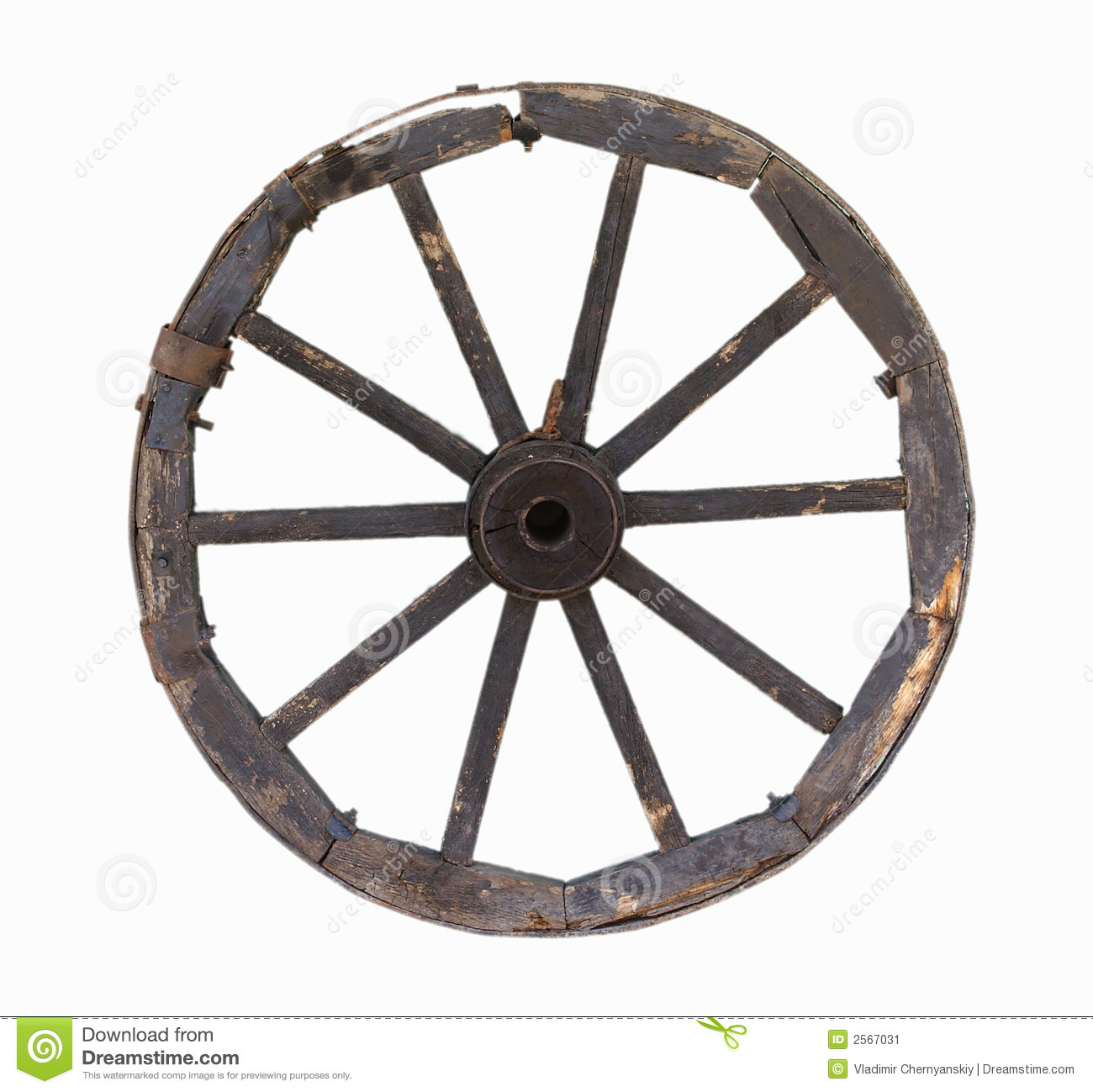 Old carriage wheel object stock image image of abstract for Old objects