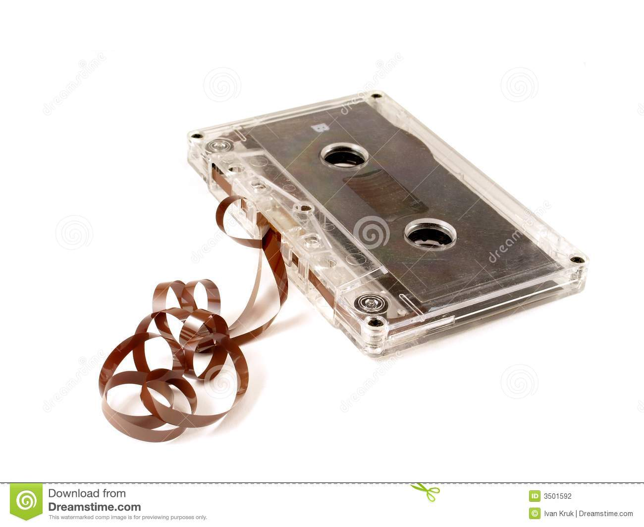 Old Cassette Tape Stock Photography Image 3501592