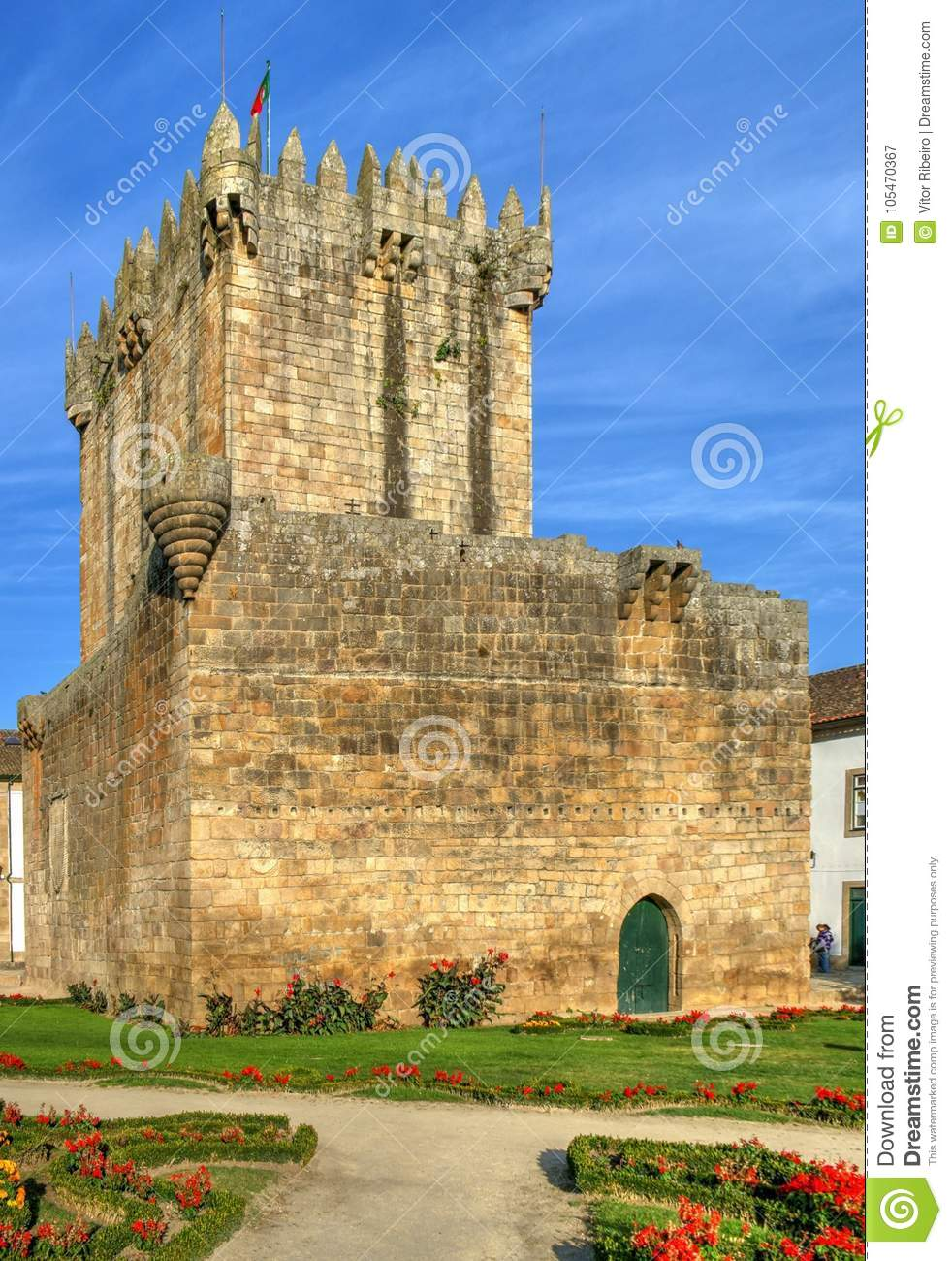 Old castle of Chaves