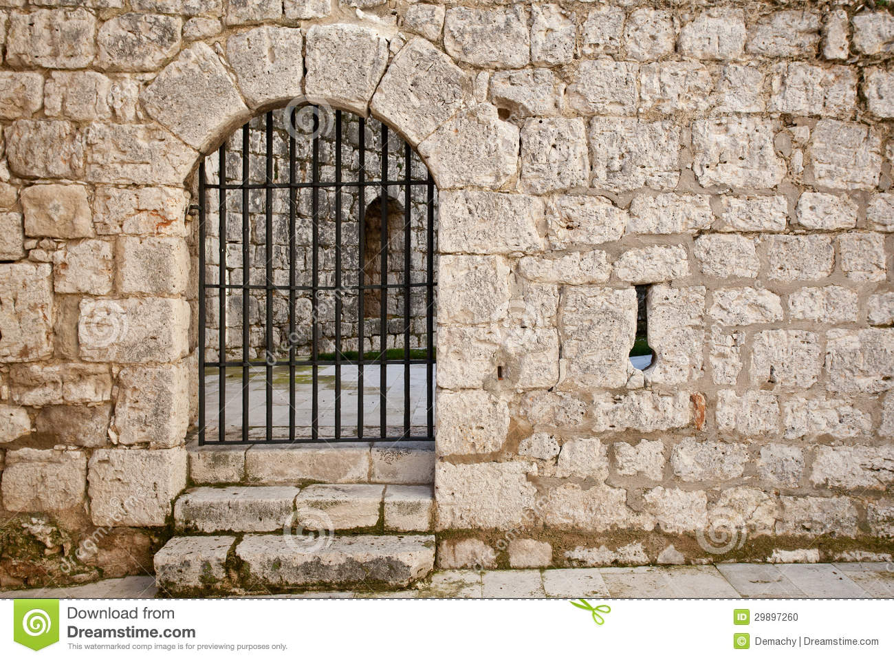 Old Castle Gate Stock Photo Image 29897260