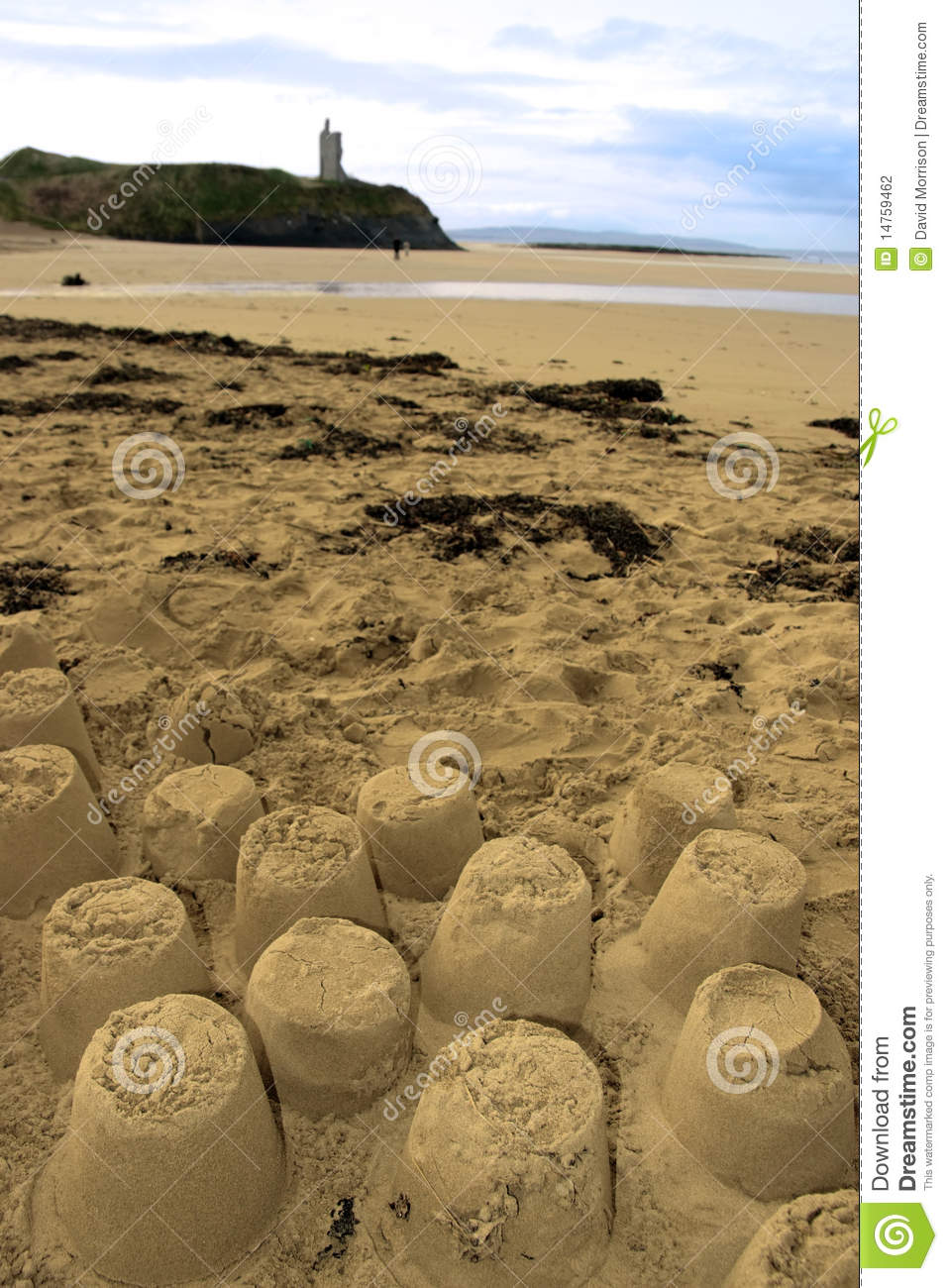 Download Old Castle Sandcastles And Cliffs Stock Photo - Image of sculpture, castle: 14759462