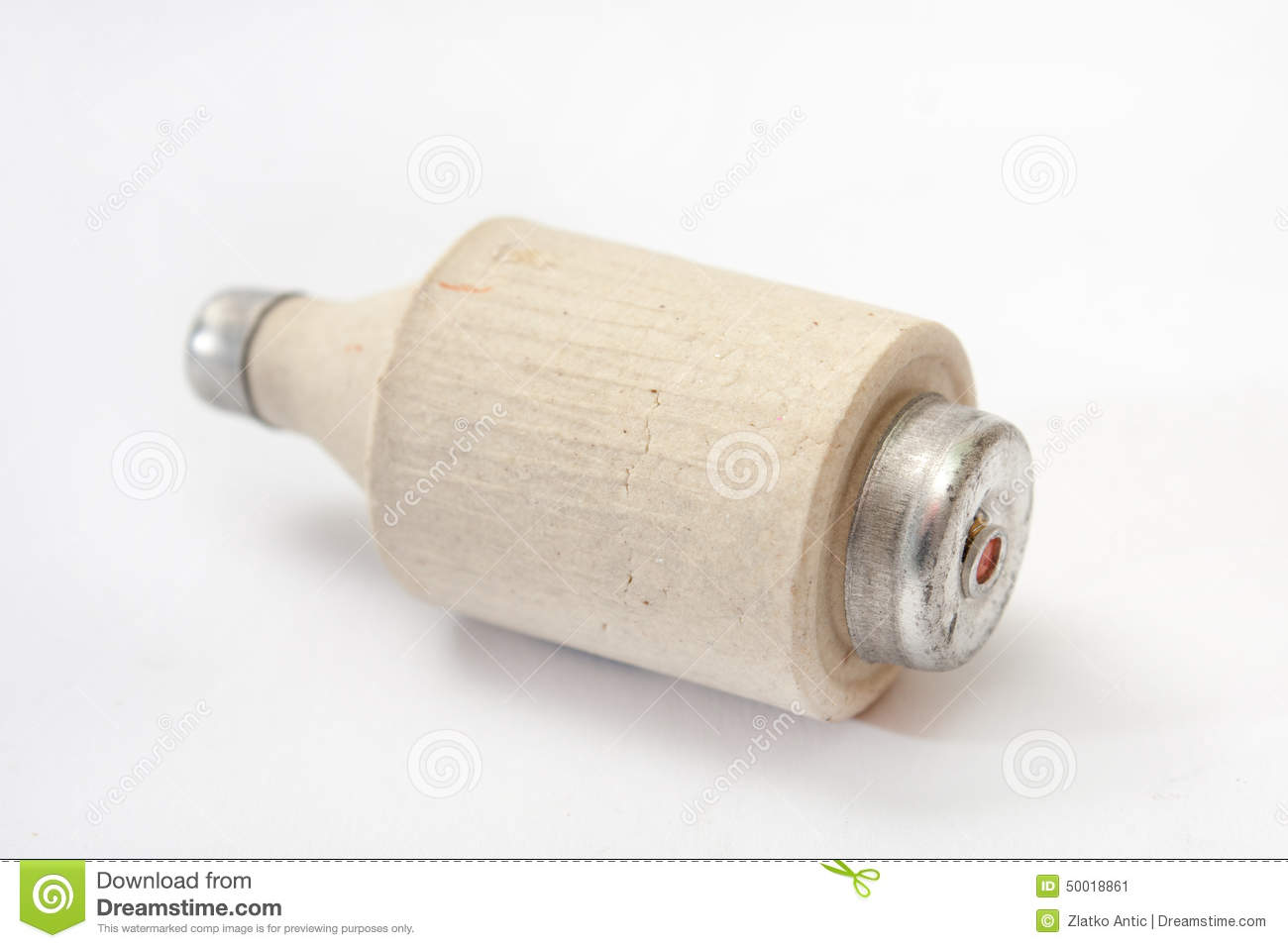 fuses in mobile home breaker box old ceramic fuse on the white background stock photo ...