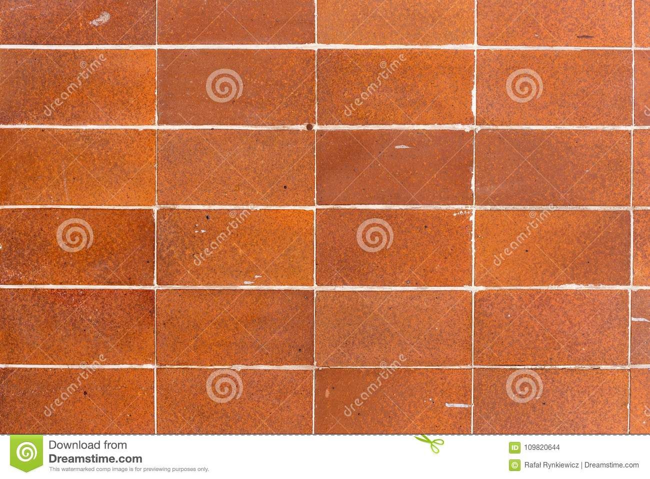 Old Ceramic Tiles For Use As A Background Stock Photo Image Of