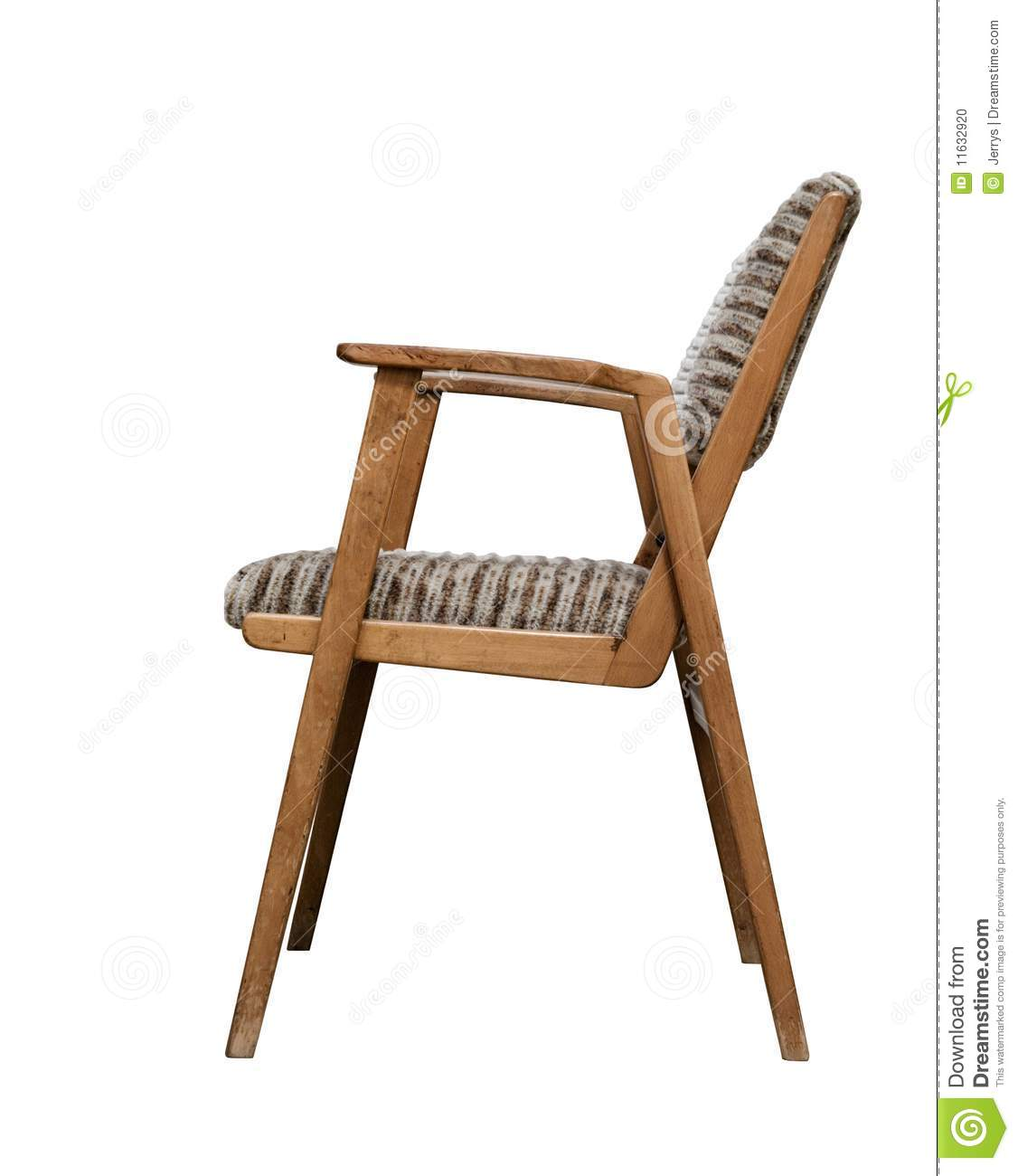 Old chair stock photo image of comfy chair trash white for White comfy chair