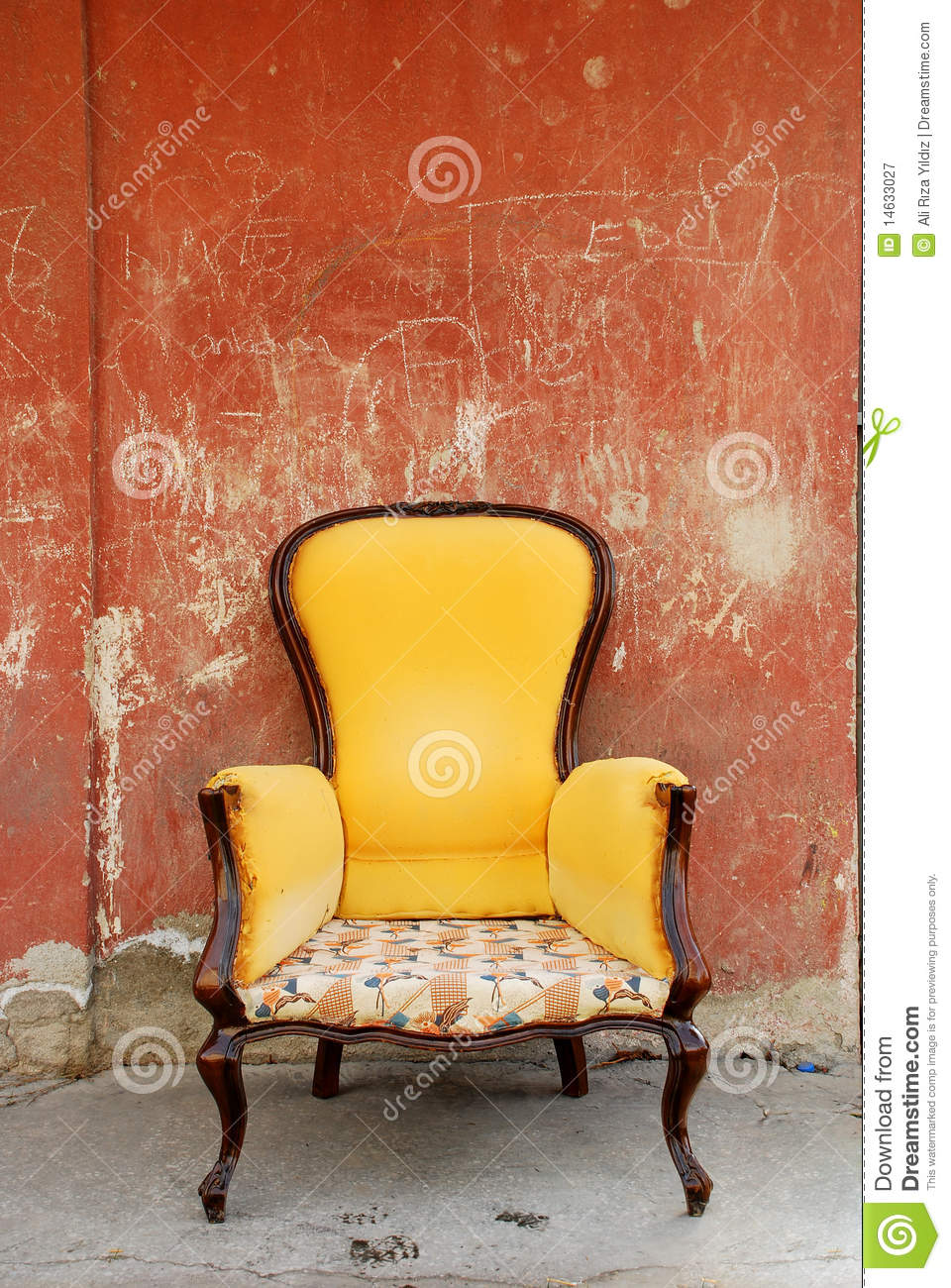 Old Chair Royalty Free Stock Photography Image 14633027