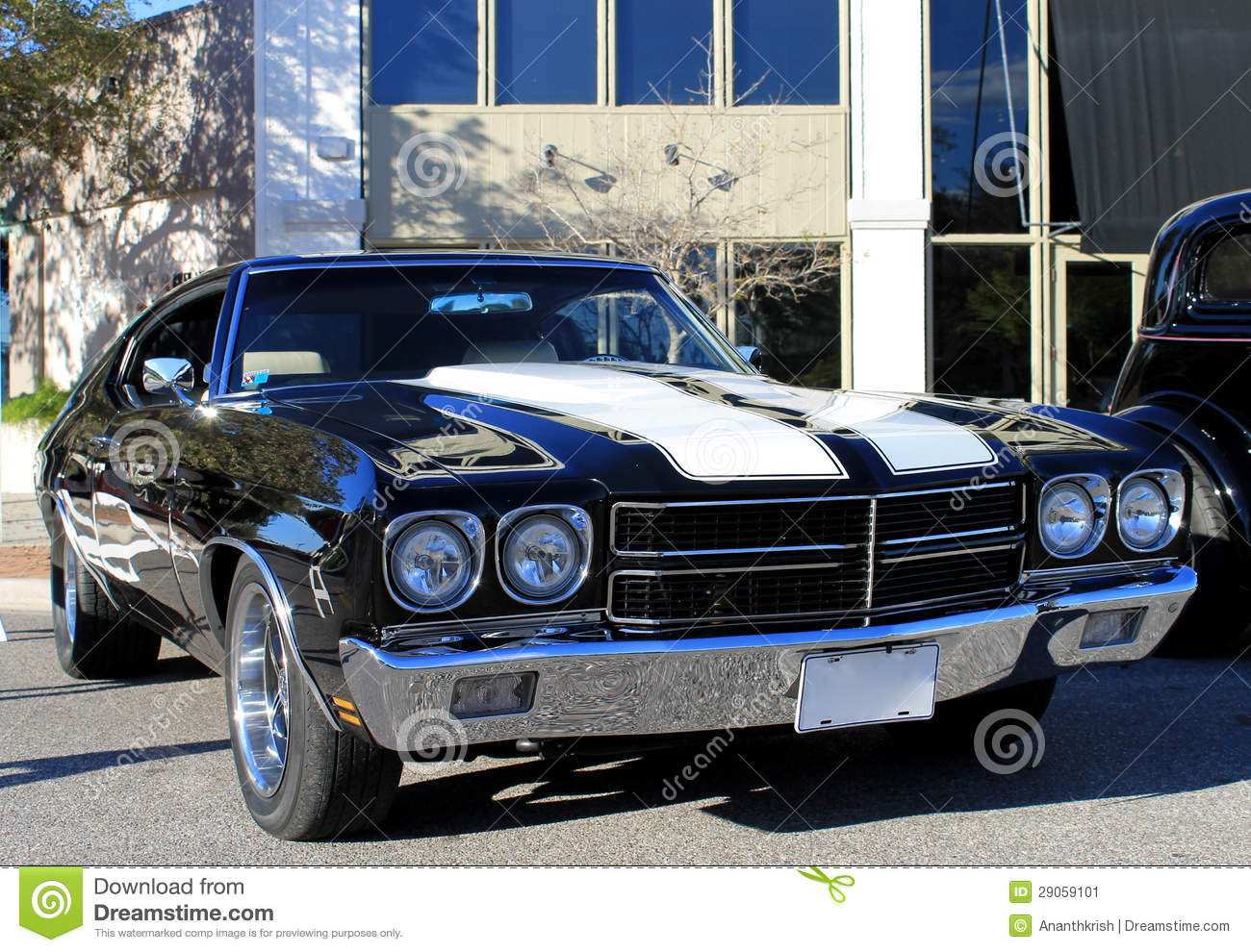 Old Chevelle SS Car stock image. Image of chevelle, coupe - 29059101