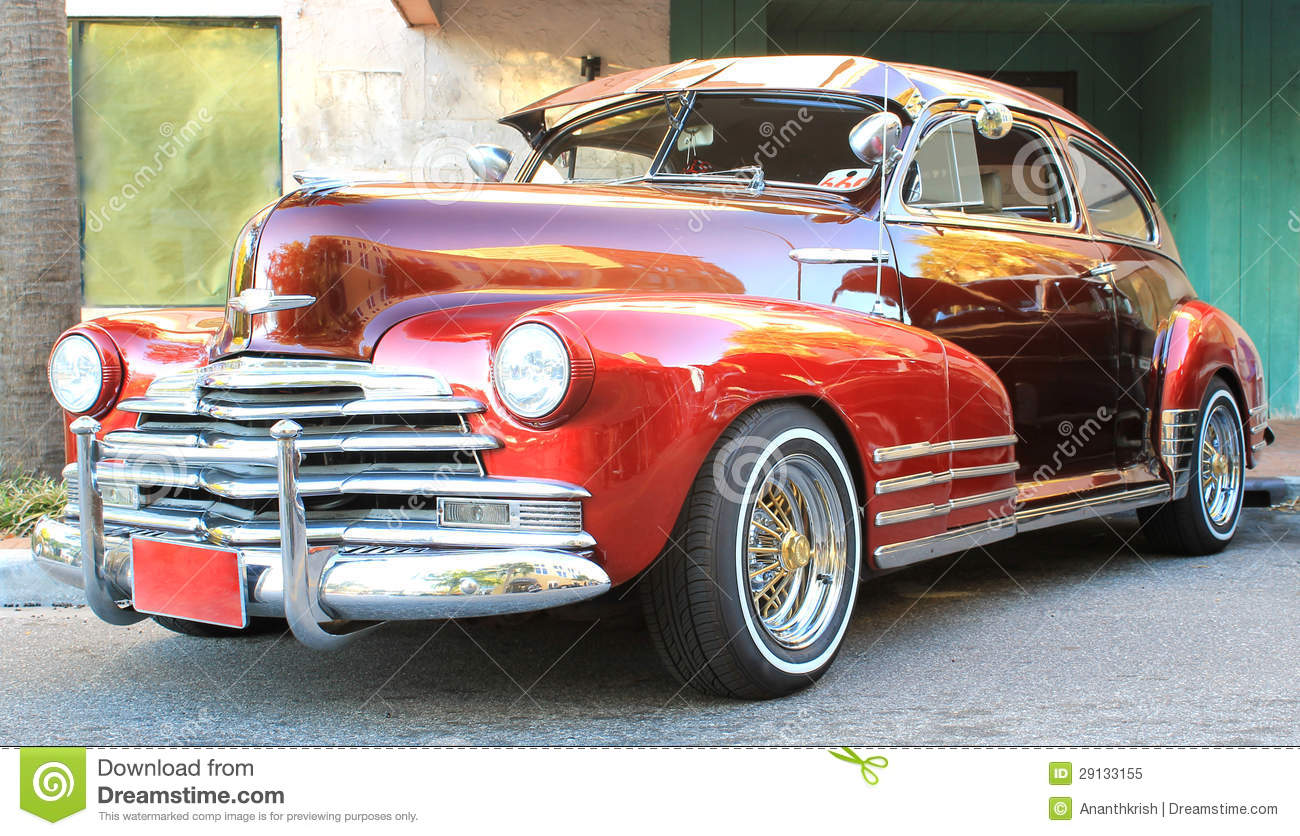 Old Chevrolet Car stock image. Image of antique, chevy - 29133155