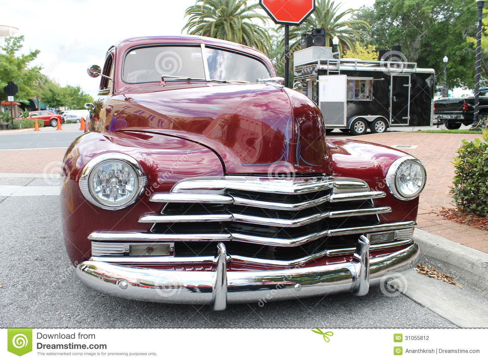 Old Chevrolet Car Stock Photo 31055812 - Megapixl