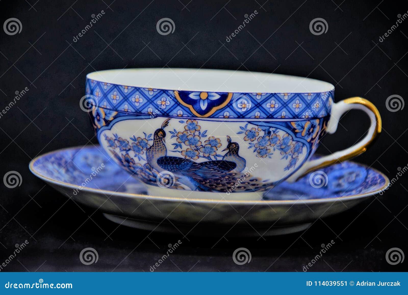 Old china porcelain.