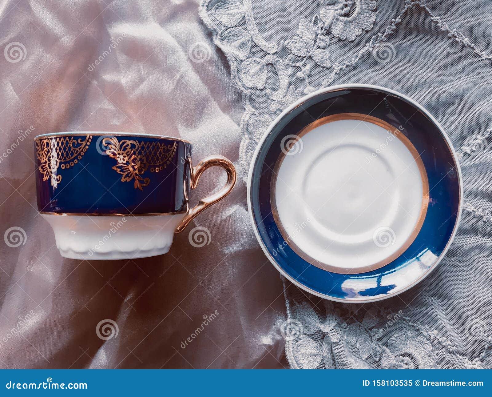 Old china tea set