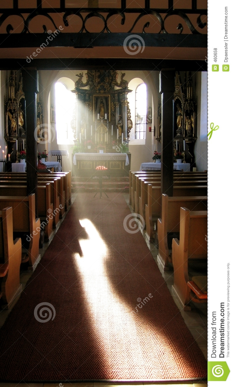 Download Old Church stock photo. Image of inside, flooring, restaurant - 460658