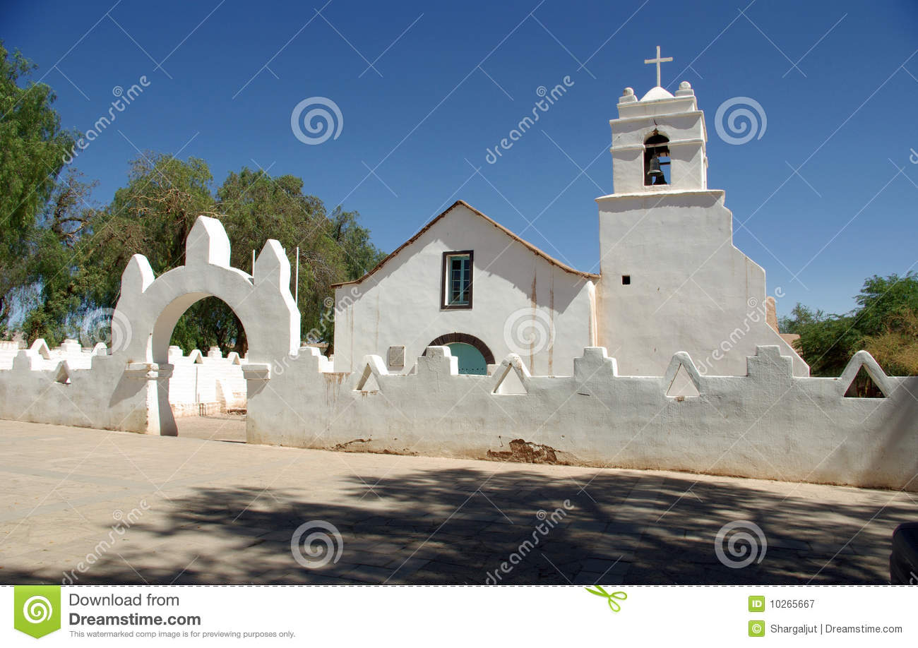 Old church, Chile