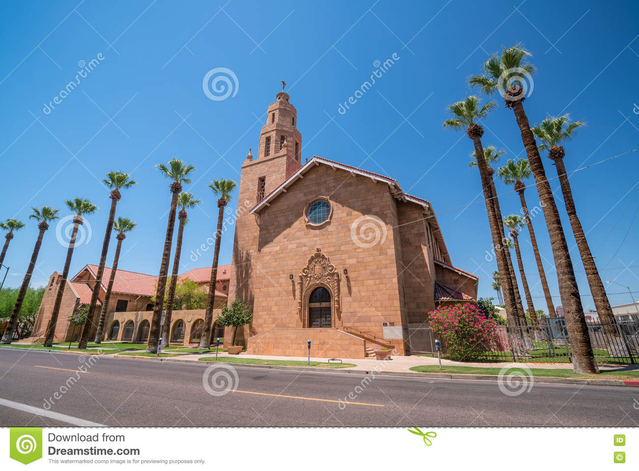 Old Church in downtown Phoenix Arizona