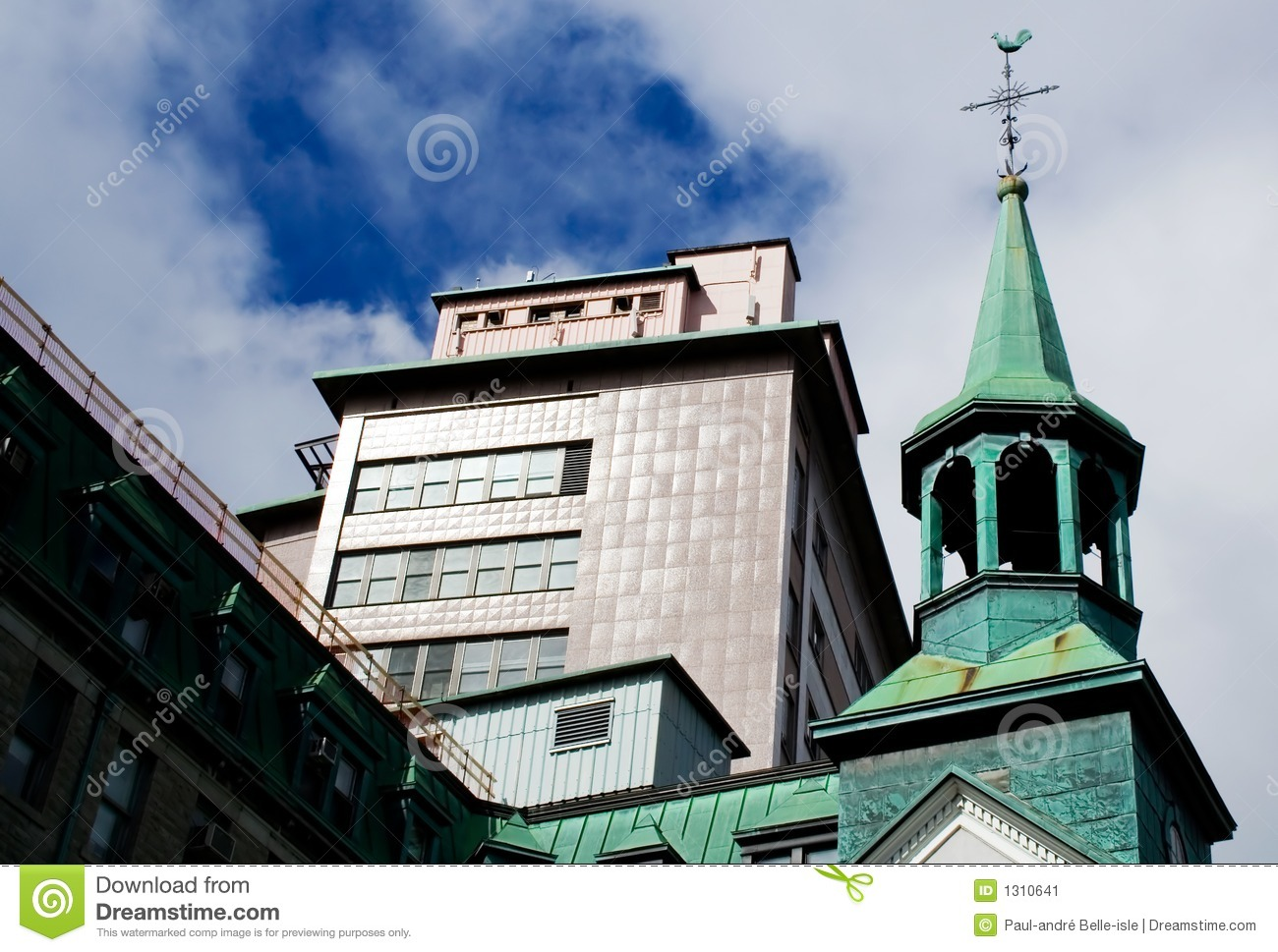 Stock Image Old Church Hospital Image1310641