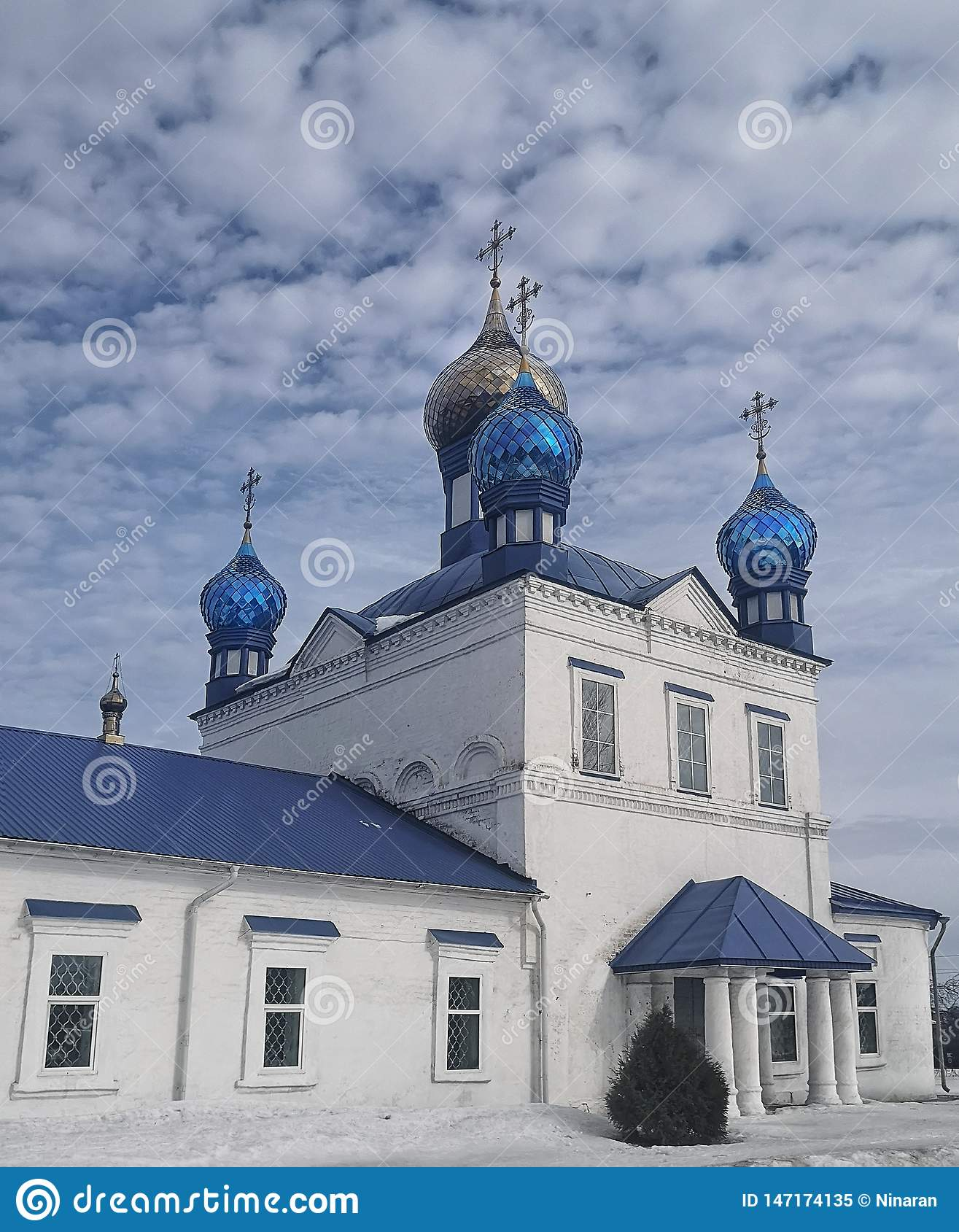 Cristian Church was built in 1708, Russia