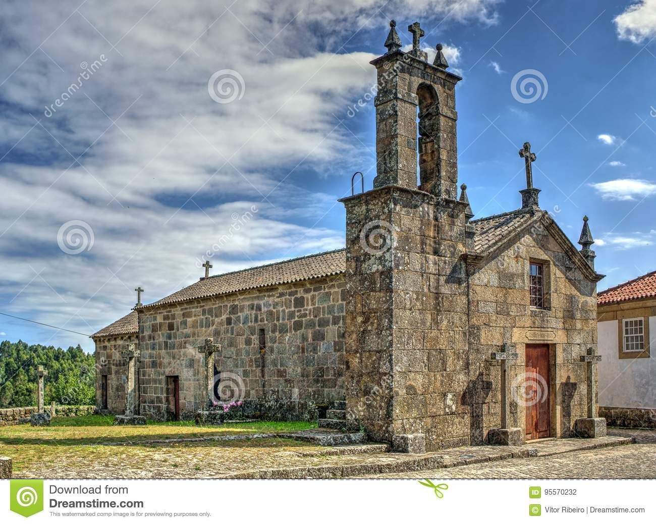 Old church of Sanfins de Ferreira