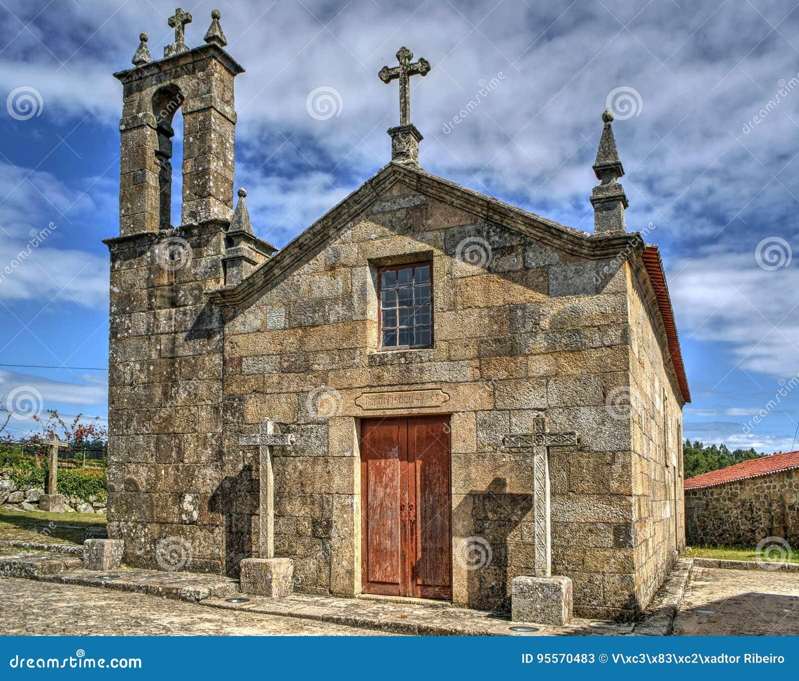 Old church of Sanfins de Ferreira