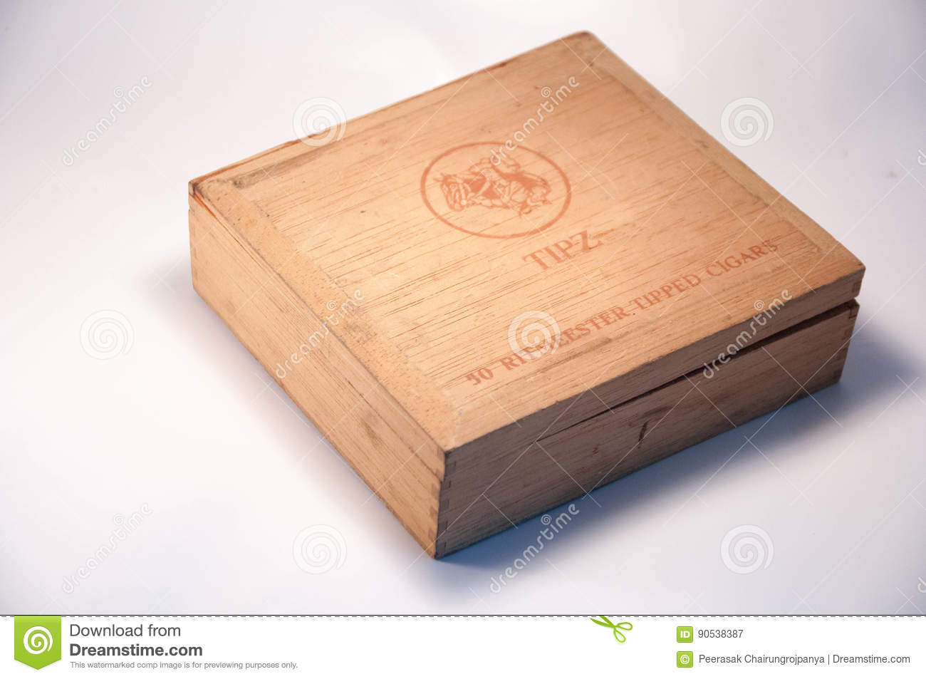 Old Cigar Box Editorial Photography Image Of Illustrative 90538387