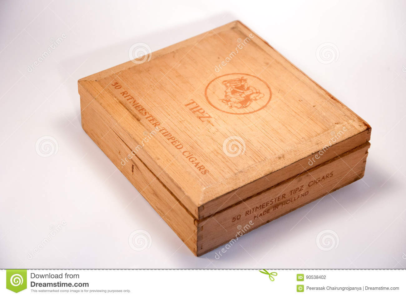Old Cigar Box Editorial Photography Image Of Cigarette 90538402