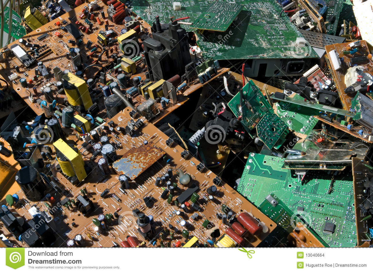 Old Electronic Circuit Board Stock Image Auto Electrical Wiring Television Photos 4665333 Boards Photo Of Electronics