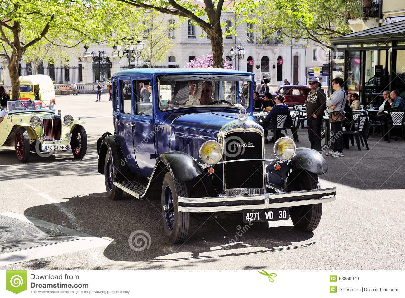 Old Citroen Car From The 1920s Editorial Stock Image