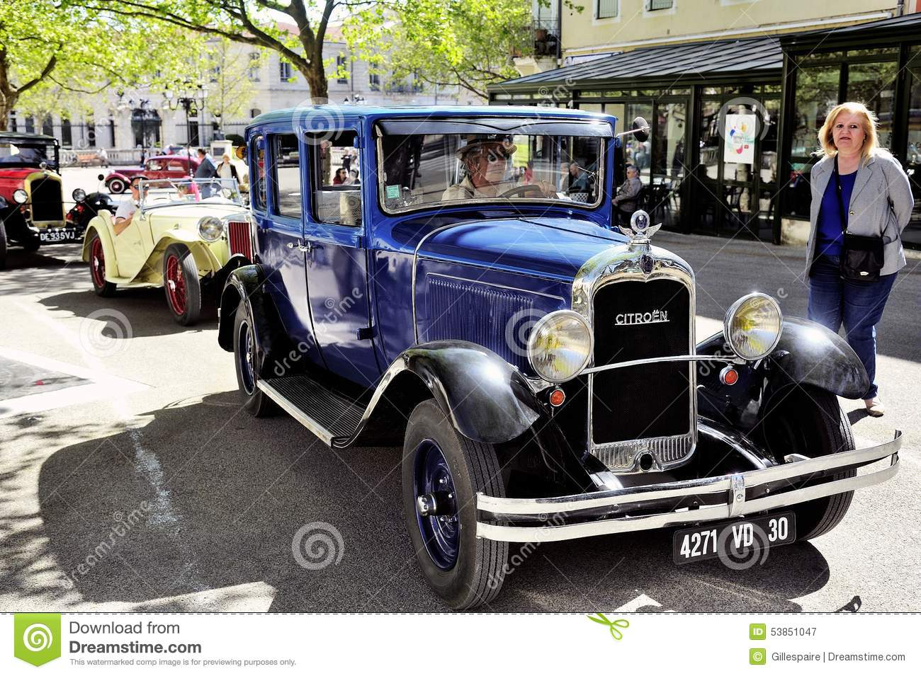 Old Citroen Car From The 1920s Editorial Photography - Image of cars ...