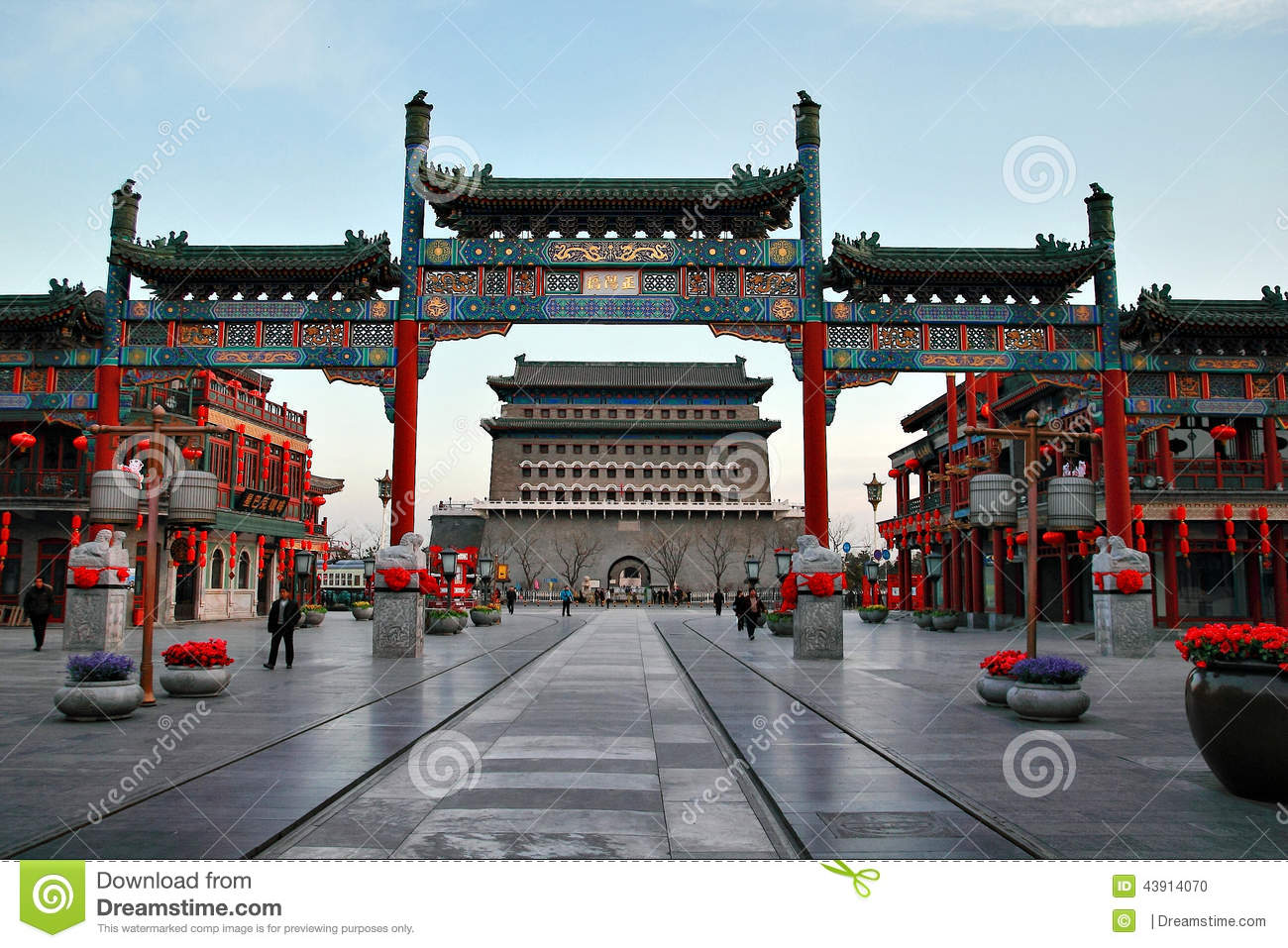 Old city in china stock photo. Image of beautiful ...