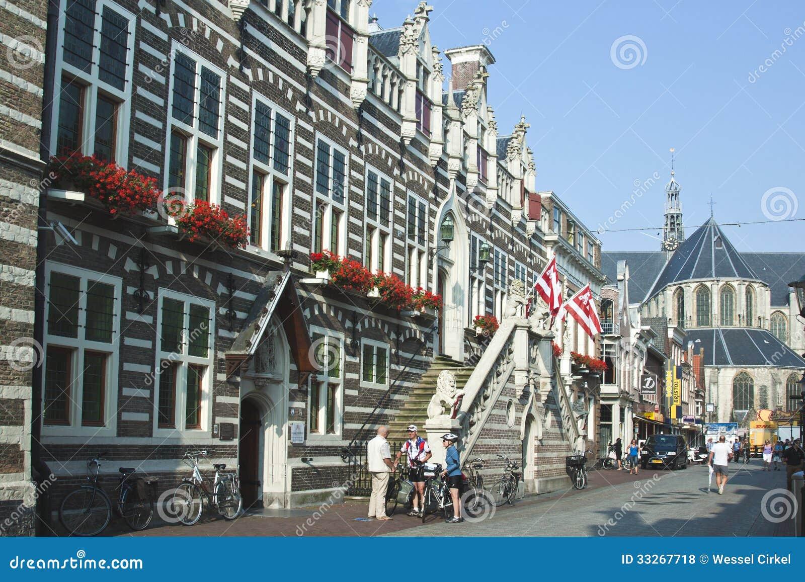 Old City Hall of Alkmaar in the Netherlands