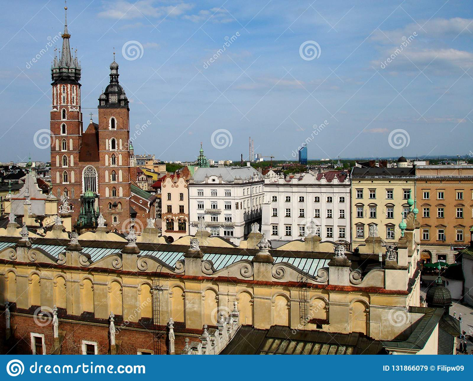 Old City of Krakow Poland