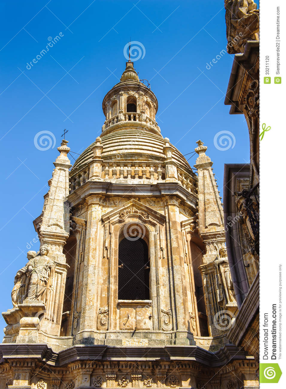 Old city of salamanca unesco world heritage stock photo for Old world architecture