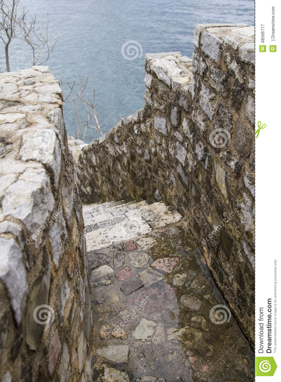 Download Old City Stairs  Budva Stock Image. Image Of Beach, Magical    48566717