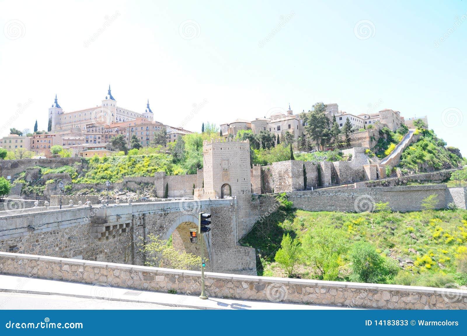 Old City Of Toledo Stock Photos - Image: 14183833