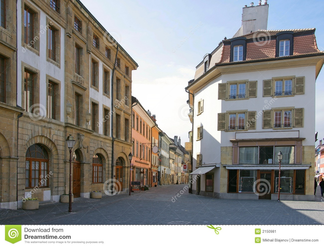 Old city views 78 stock image image 2150981 for 3d architecture yverdon